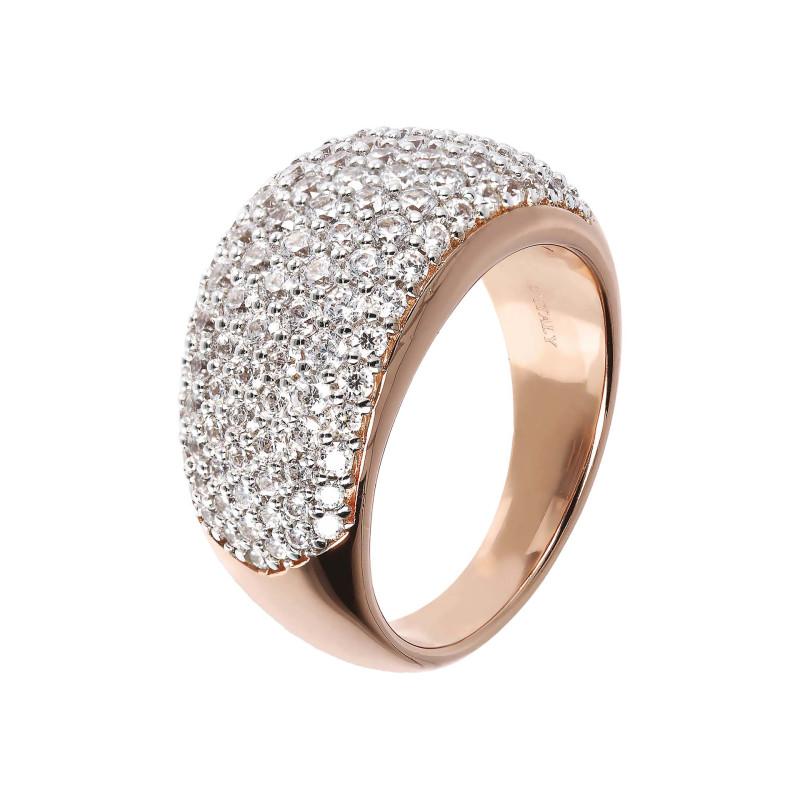 Rosé Ring met zirkonia WSBZ01402