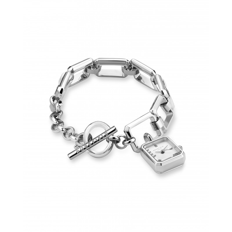 The Octagon Charm Chain Silver SWSSS-O53