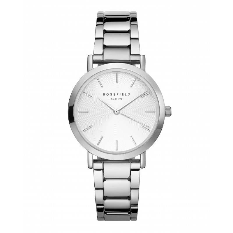 The Tribeca White Sunray Steel Silver TWSS-T62