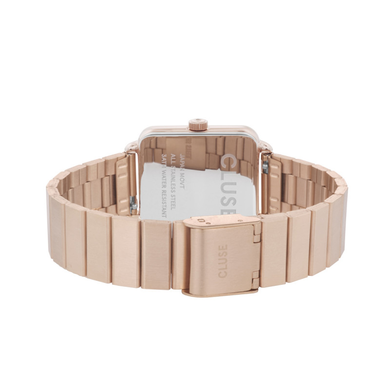 La Tétragone Single Link Rose Gold/White CL60024S