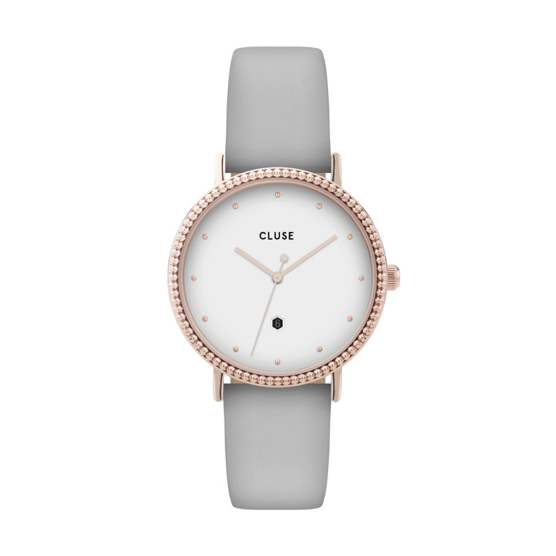 Le Couronnement Rose Gold White/Soft Grey CL63001