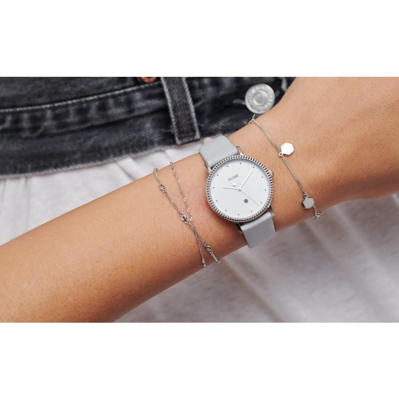 Le Couronnement Silver/Soft Grey CL63004