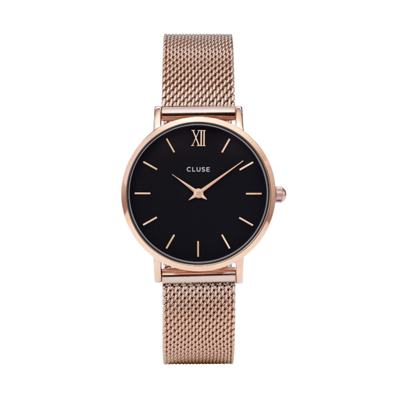 Minuit Mesh Rose Gold/Black