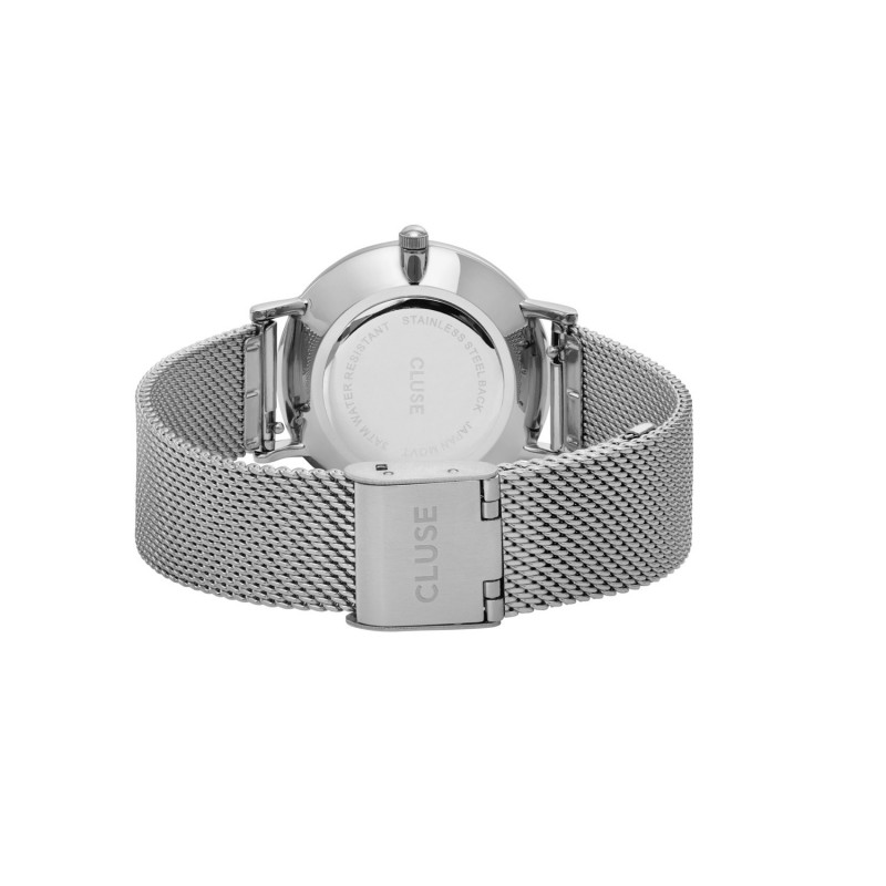CLUSE Minuit Mesh, Silver, Black/Silver