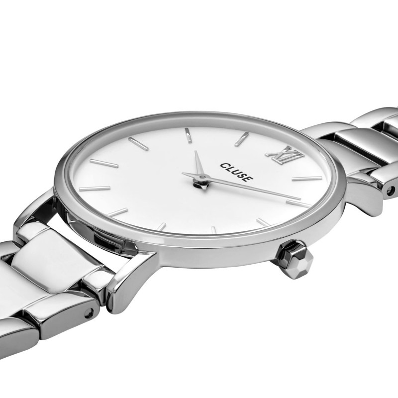 Minuit 3-Link, Silver, White/Silver