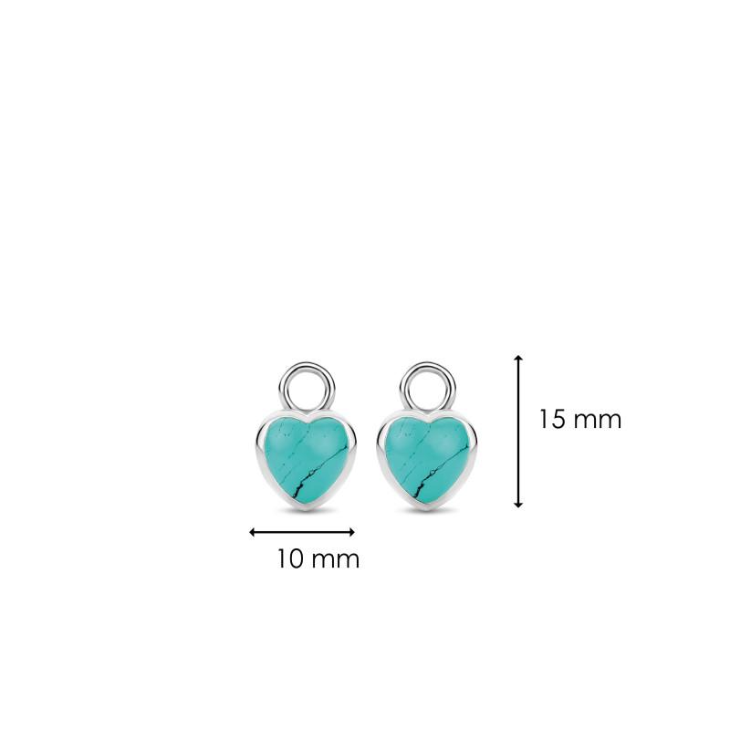 Zilveren oorbedels 9231TQ