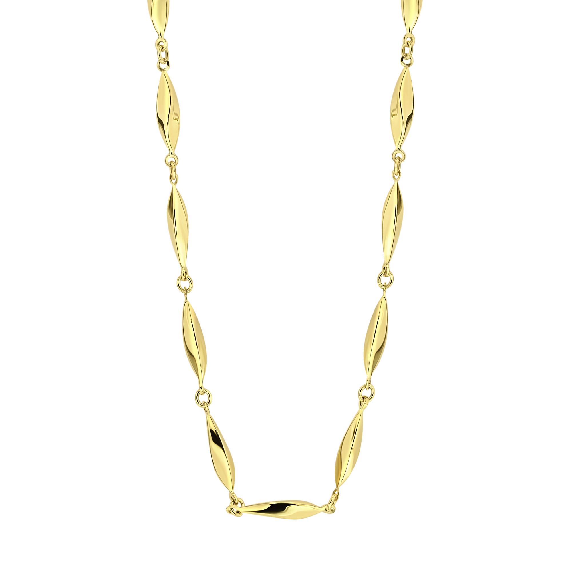 Gouden collier X3STN212010-Y