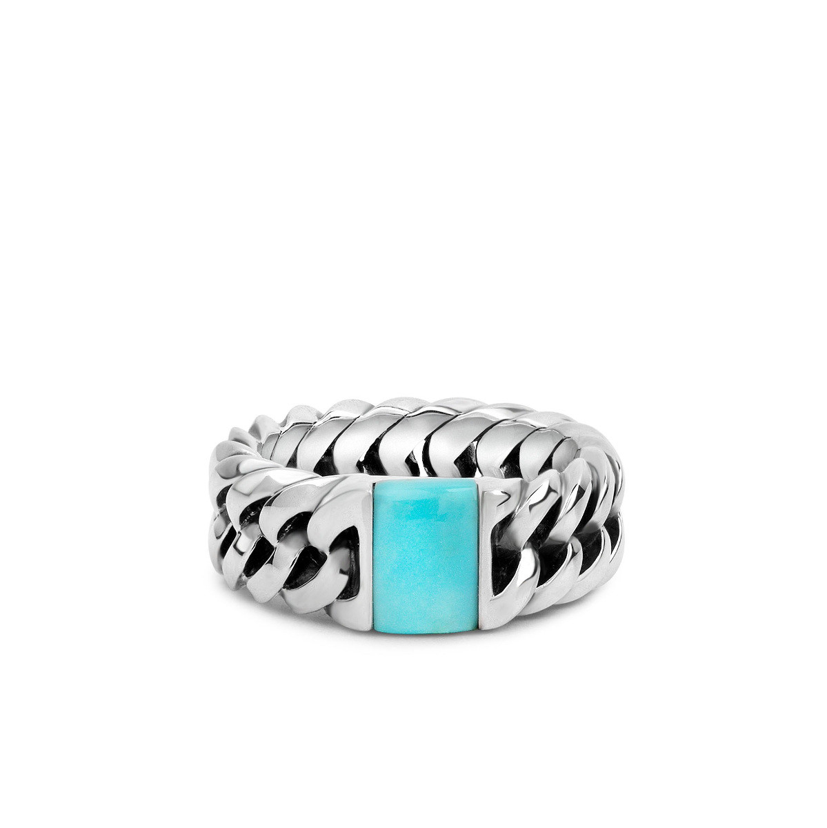 Ring Chain Stone Turquoise 603TQ