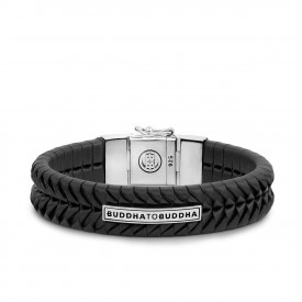 Komang Leather Bracelet Black