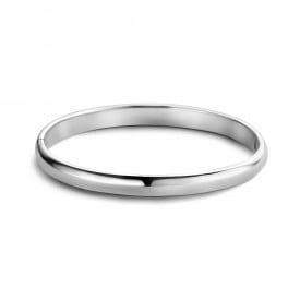 Zilveren bangle 6mm 1041154-6MM
