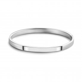 Zilveren massieve bangle 5mm 1041158-5MM