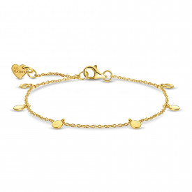 Goldplated armband 07.135.35