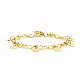 Gold plated armband 07.213.35