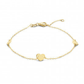 Geelgouden armband FG083-380