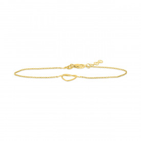 Geelgouden armband FG431-080