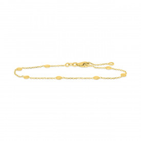 Geelgouden armband FG882-623