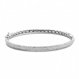 Zilveren bangle met zirkonia MJ1375-1CB