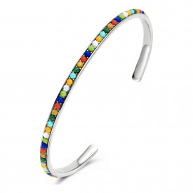 Zilveren bangle 9SY-0071