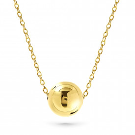 Geelgoud collier CABLE14N0735-Y
