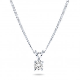 Witgoud collier SOL-W018-010-G2