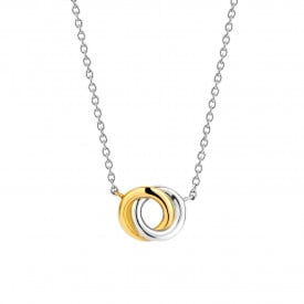 Zilver collier 3915SY