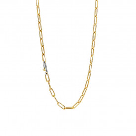 Gold plated collier 3947SY