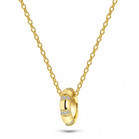 Goldplated collier 09.708/45.35