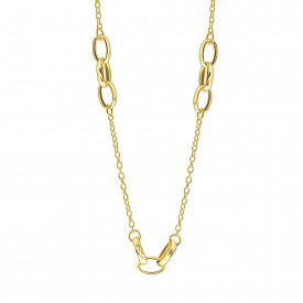 Geelgoud collier CF928D-Y