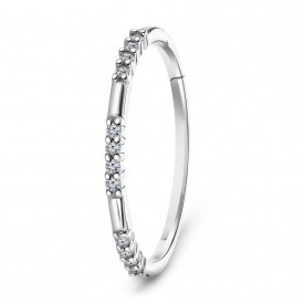 Witgouden diamant ring 73962R001-W