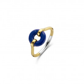 Starry universe Gold plated ring 12237BL