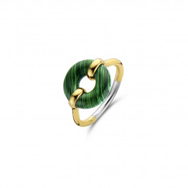 The outdoors Gold plated ring 12237MA