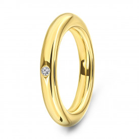 Goldplated ring 01.050Z.35