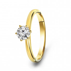 Gold plated ring 01.2295Z.35