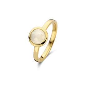 Gold plated ring met maansteen 01.443M.35