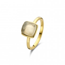 Gold plated ring met maansteen 01.446GM.35