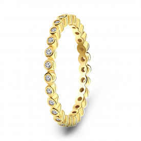 Gold plated ring 01.900Z.35