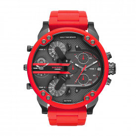 Mr. Daddy 2.0 Chronograph Red Stainless Steel Horloge