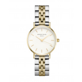 The Small Edit White Steel Silver Gold Duo 26SGD-269