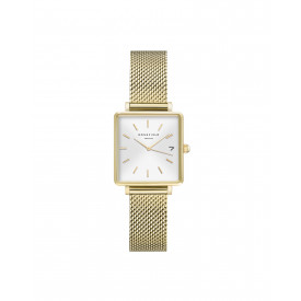 The Boxy XS White Sunray Mesh Gold QMWMG-Q039