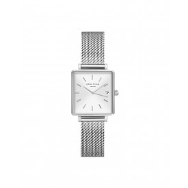 The Boxy XS White Sunray Mesh Silver QMWMS-Q038