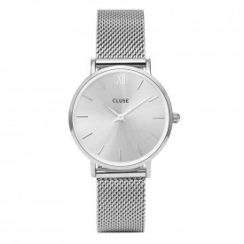 CLUSE Minuit Mesh, Silver, Silver/Silver