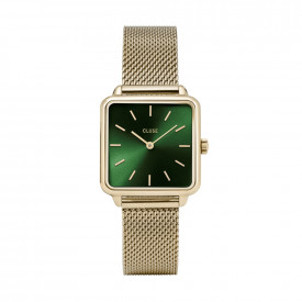 La Tétragone Mesh Gold/Forest Green