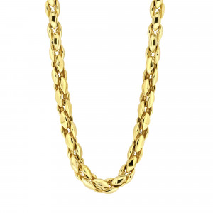 Gold plated collier 09.4400