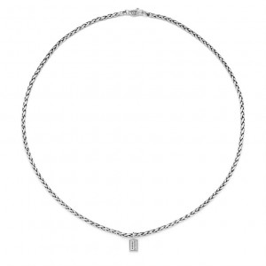 Zilver collier George XS 718