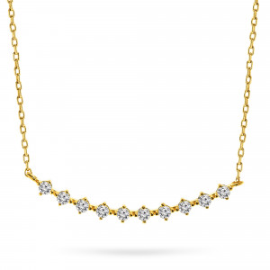 Geelgoud collier 6N0978-FCZ-Y