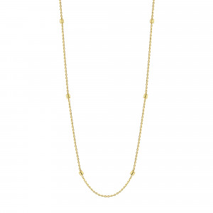 Geelgoud collier X7FOR8N0338-Y