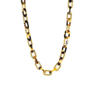 Gold plated collier 3956TU
