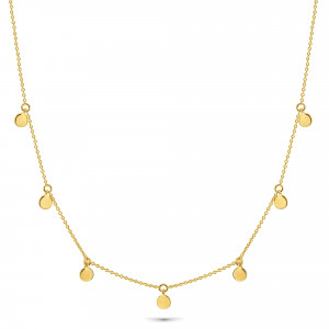 Gold plated collier 09.135.35