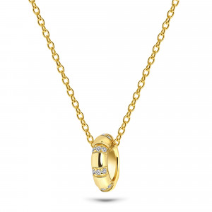 Gold plated collier 09.708/45.35