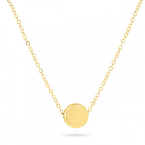 Geelgoud collier FG986-332